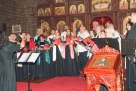 Концерт Српског певачког друштва у цркви Св. Тројице у Брансвику